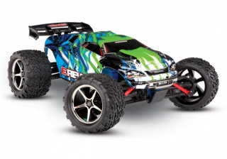 E-Revo 1:16 4WD Brushed TQ Fast Charger Green