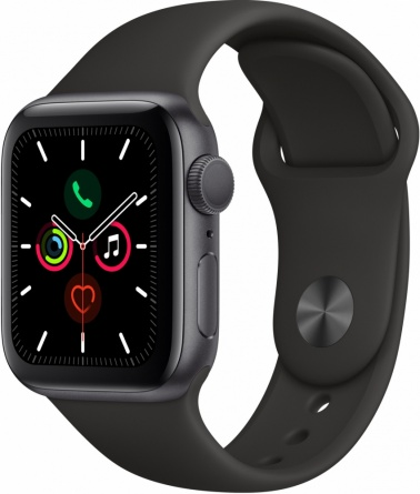 Apple Watch Series 5 GPS 40mm Aluminum Case with Sport Band фото 1