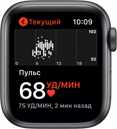 Apple Watch Series 5 GPS 40mm Aluminum Case with Sport Band фото 4
